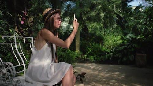 Sharing Selfie From Lednice Greenhouse Czechia