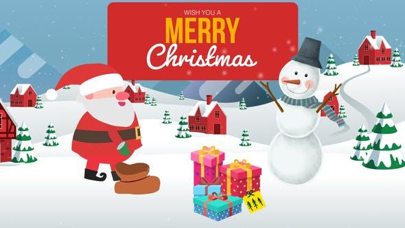 Cartoon Christmas Wishes - Christmas Opener