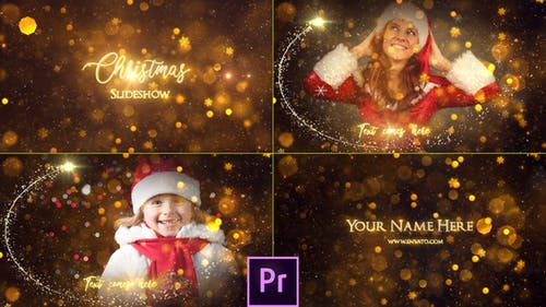 Christmas Slideshow - Premiere Pro