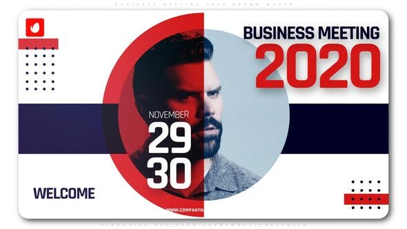 Thumbnail for Business Meeting 2020 Promo Maker