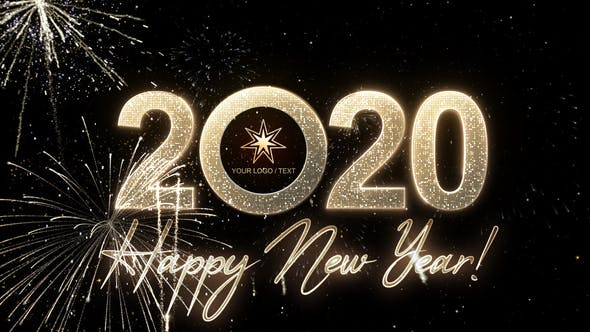 Thumbnail for Modern New Year Countdown Clock 2020