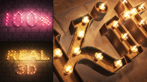 Text   Logo Light Bulb