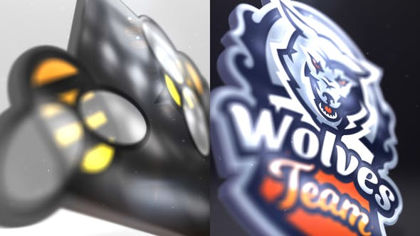 Clean 3D Logo Reveal