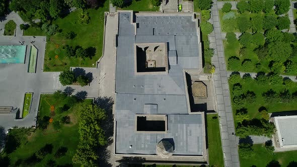 Thumbnail for Bird's Eye View Of Historic Building