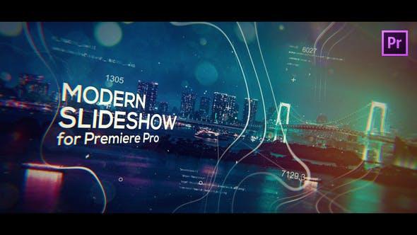 Thumbnail for Diaporama Cinématographique moderne pour Premiere Pro