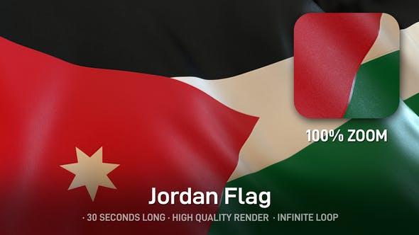 Thumbnail for Jordan Flag