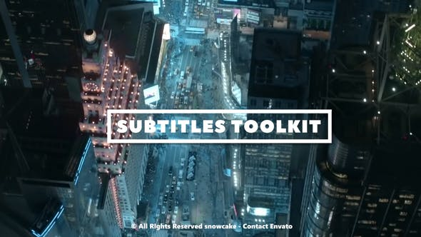 Thumbnail for Subtitles Toolkit
