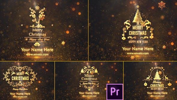Thumbnail for Saludos de Navidad - Premiere Pro