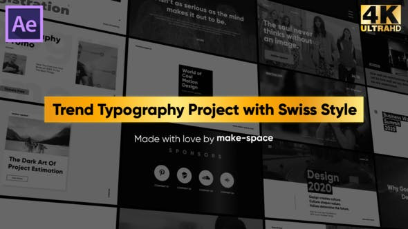 Thumbnail for Swiss Typography Pack