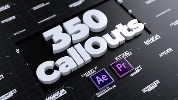 Thumbnail for CallOuts   For Premiere Pro and After Effects
