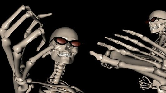 Thumbnail for Skeleton Funny Fight