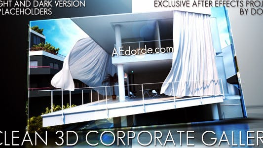 Thumbnail for Clean 3d Corporate Gallery