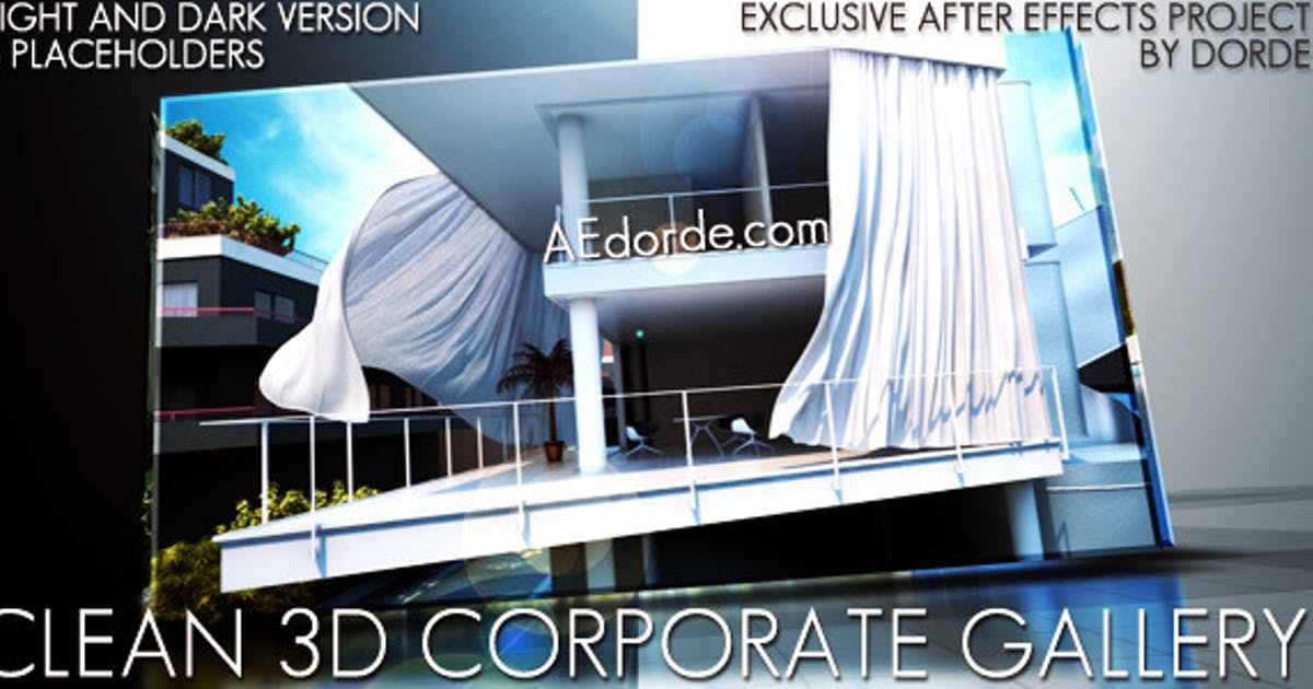 Download Clean 3d Corporate Gallery by dorde