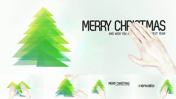 Thumbnail for Touch Christmas Video Greeting Card