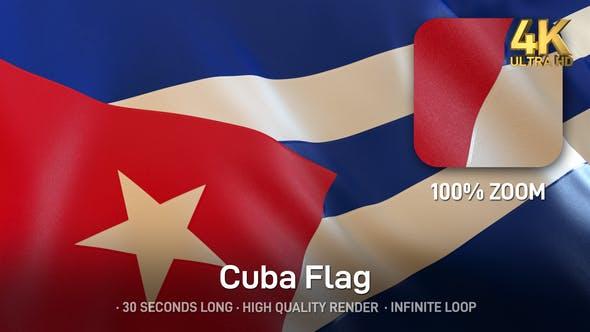 Thumbnail for Cuba Flag - 4K