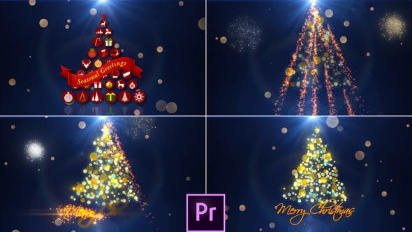 Thumbnail for Christmas Intro - Premiere Pro