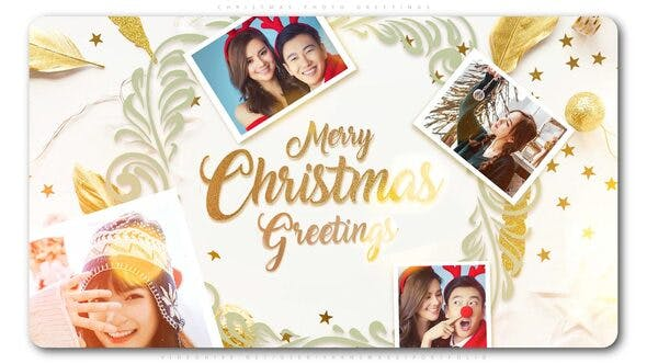Thumbnail for Christmas Photo Greetings