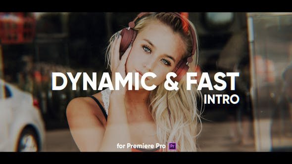 Thumbnail for Dynamic Fast Intro for Premiere Pro