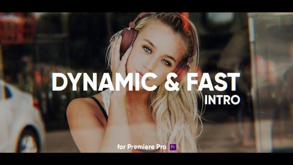 Thumbnail for Intro rapide dynamique pour Premiere Pro