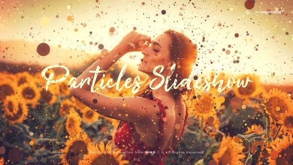 Particles Slideshow