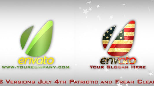 Cover Image for Fresh & July 4th Patriotic Logo Opener