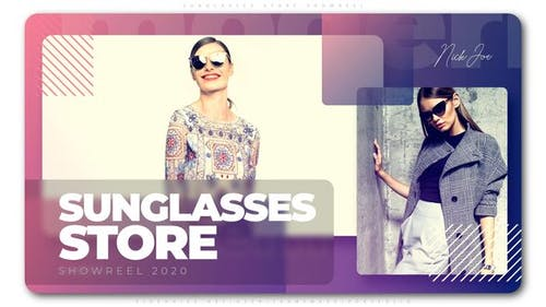 Sunglasses Store Showreel