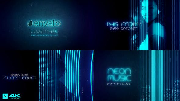 Thumbnail for Neon Music Event V2