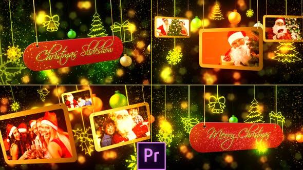 Thumbnail for Christmas Slideshow - Premiere Pro