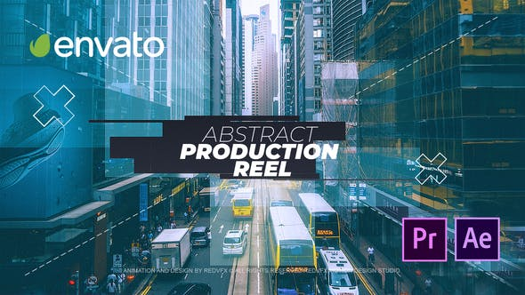 Thumbnail for Abstract Production Reel for - Premiere Pro