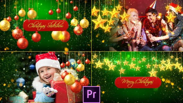 Cover Image for Christmas Slideshow 2 - Premiere Pro