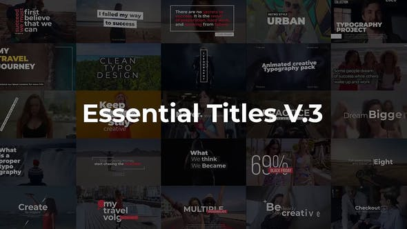 Essential Titles V.3