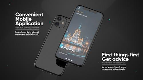 Phone 11 App Presentation Mockup
