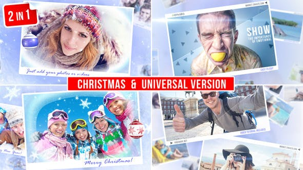 Thumbnail for Photo Story (2 in 1). Christmas & Universal version