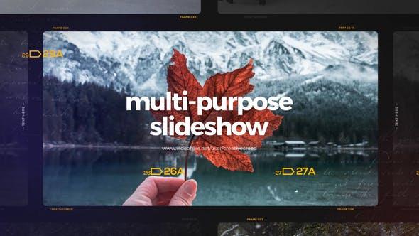 Thumbnail for Multipurpose Slideshow / Travel Journey Opener / Memories Photo Album / Positive Gallery