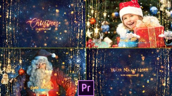 Thumbnail for Diaporama de Noël - Premiere Pro