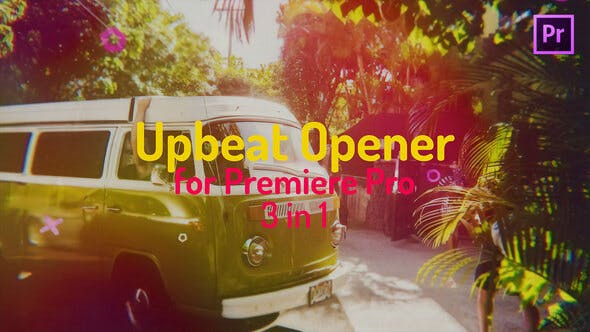 Upbeat Colorful Opener for Premiere Pro