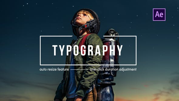Thumbnail for Typography | After Effects
