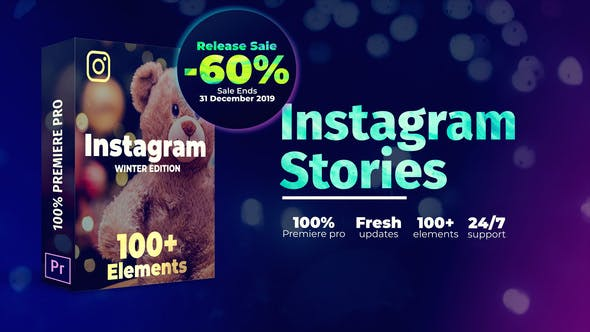 Thumbnail for Instagram Stories | For Premiere Pro