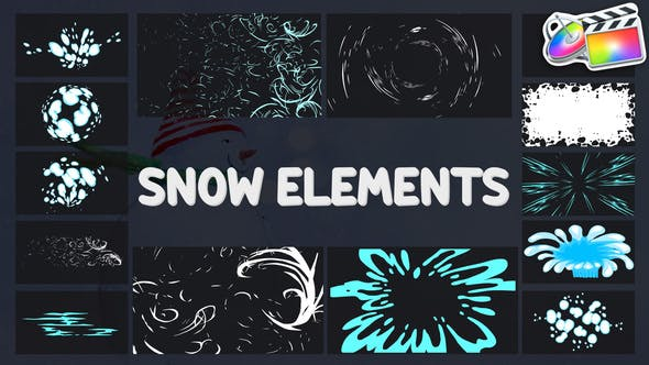 Thumbnail for Cartoon Holiday Elements | FCPX