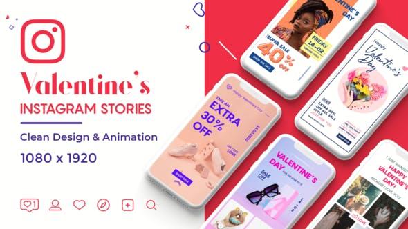 Thumbnail for Valentine Instagram Stories