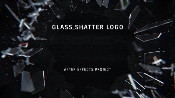 Glass Shatter Logo