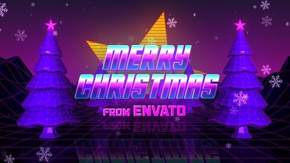 Retro 80s Christmas Wishes