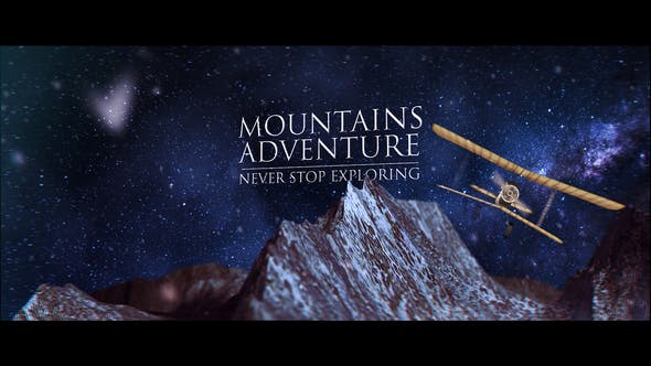 Thumbnail for Mountain Logo Reveal
