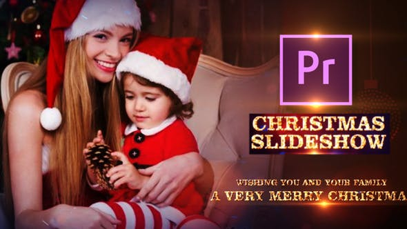Thumbnail for Christmas Bash Family Slideshow - Premiere PRO