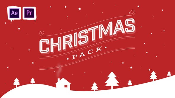 Thumbnail for Christmas Pack | After Effects and Premiere Pro