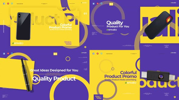 Thumbnail for Colorful Product Promo