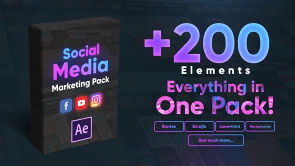 Thumbnail for Social Media Marketing Pack