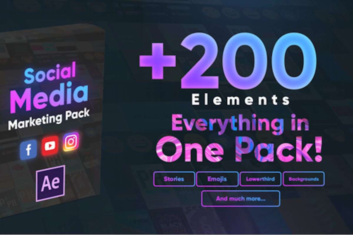 Social Media Marketing Pack By Hushahir On Envato Elements