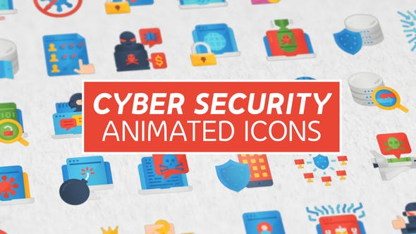 Thumbnail for Cyber Security Modern Flat Animated Icons