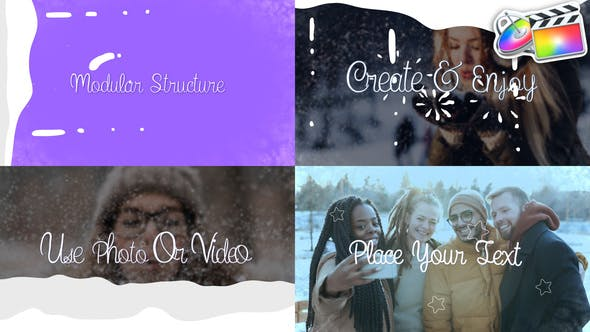 Thumbnail for Christmas Slideshow | FCPX